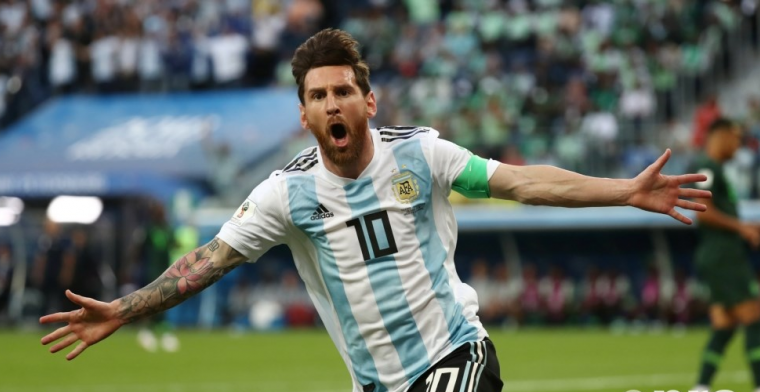 LIVE: Spectaculaire ontsnapping Argentinië: Rojo de matchwinner (gesloten)