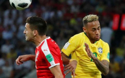 Afbeelding: Brazilië stuurt Tadic naar huis en gaat met Zwitserland naar achtste finales