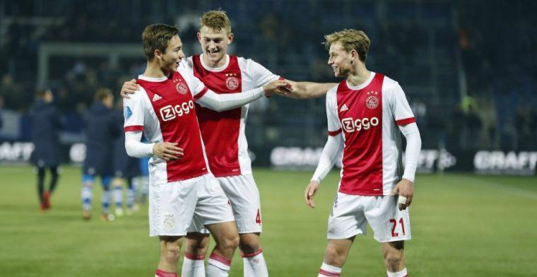 'Barça wil Ajax voor het blok zetten door Arthur-tactiek toe te passen op De Jong'