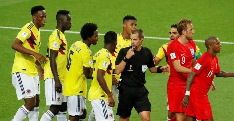Engeland - Colombia loopt uit de hand: 'Wat een onkundige clown'