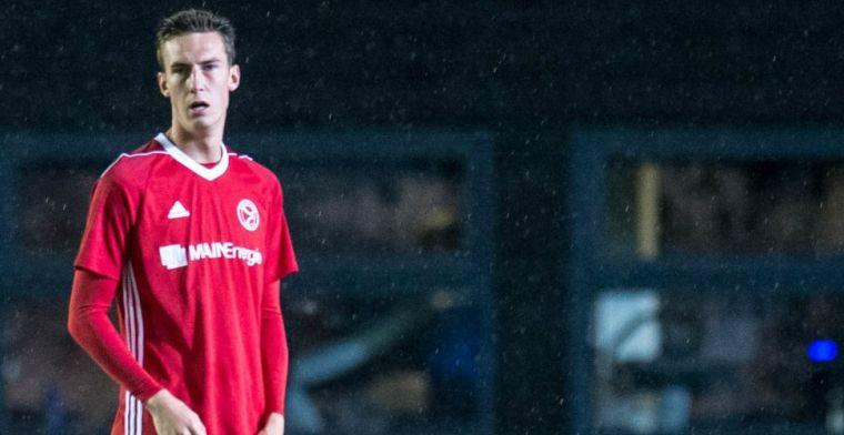 Fraaie transfer voor spits Van der Heijden: driejarig contract in Italië