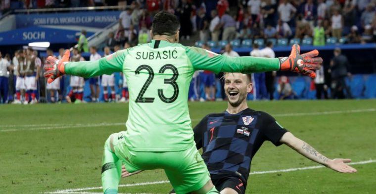 Kroatië beëindigt Russisch sprookje na zinderend slot en gaat naar halve finale