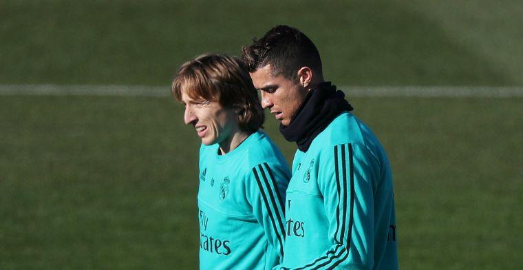 Modric gelooft weinig van Ronaldo-verhalen: Ik denk niet dat hij weggaat