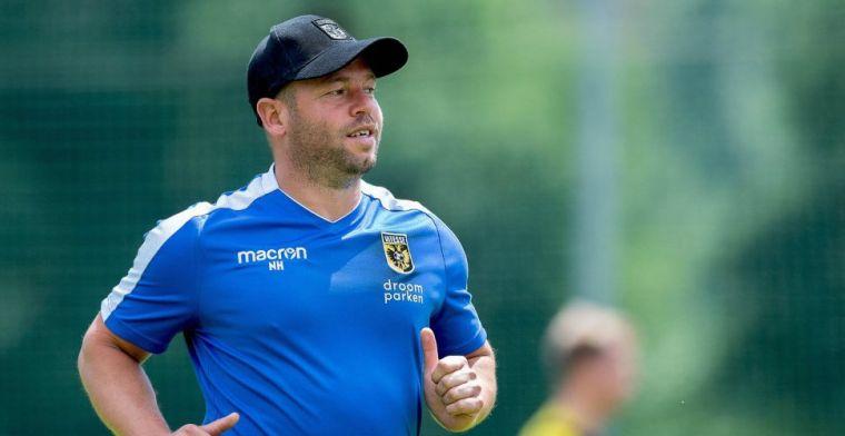 Wéer contractnieuws uit technische staf Vitesse: 'Het is snel gegaan'