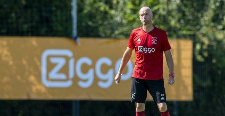 Ten Hag enthousiast over 'brutale' Ajax-tiener: 'Grote stap, hij adapteert snel'