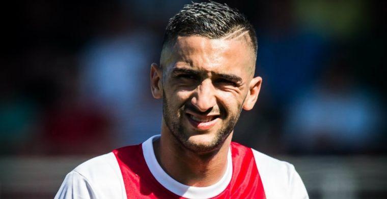 Vindt Ziyech dat niet, dan speelt hij nog heel graag een jaar bij Ajax