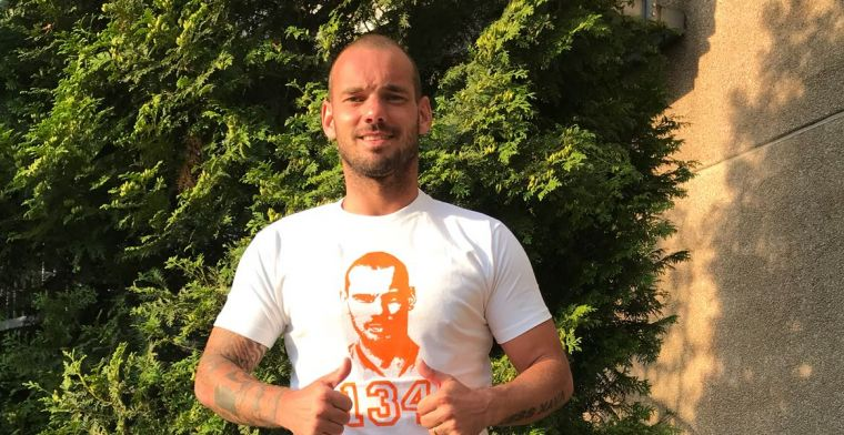Exclusieve korting op speciaal Wesley Sneijder-shirt!