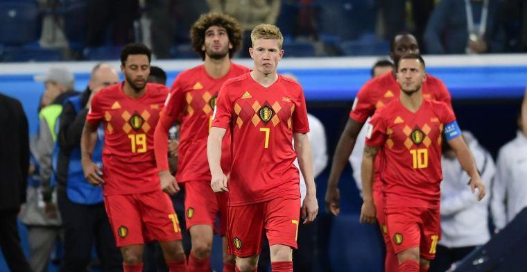 Buitenlandse media over de Rode Duivels: 'Hij hoort niet thuis op WK-finale'