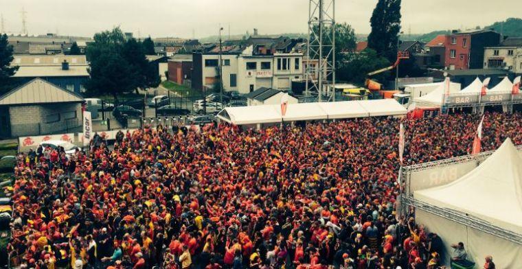 Belgische club staan allemaal achter de Rode Duivels: 'Full house'