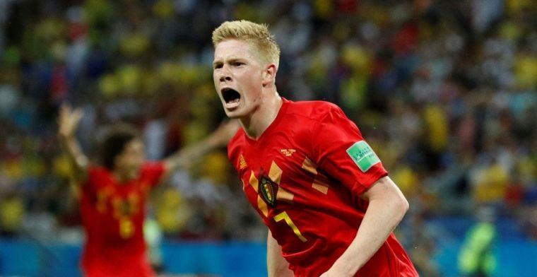 De Bruyne verklaart Belgisch succes: 'Zo snel mogelijk naar het buitenland'
