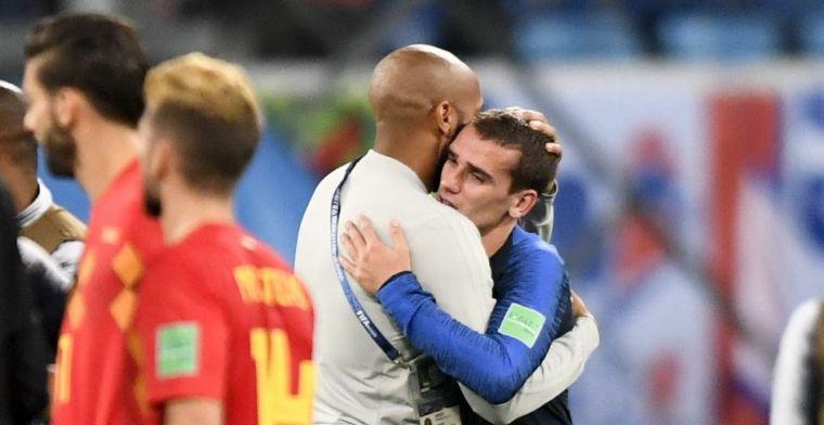 Griezmann maalt niet om speelwijze: 'Net zoals Atlético, voel me wel thuis'