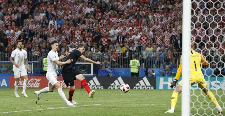 LIVE: Engeland komt goal niet meer te boven: Kroatië naar finale