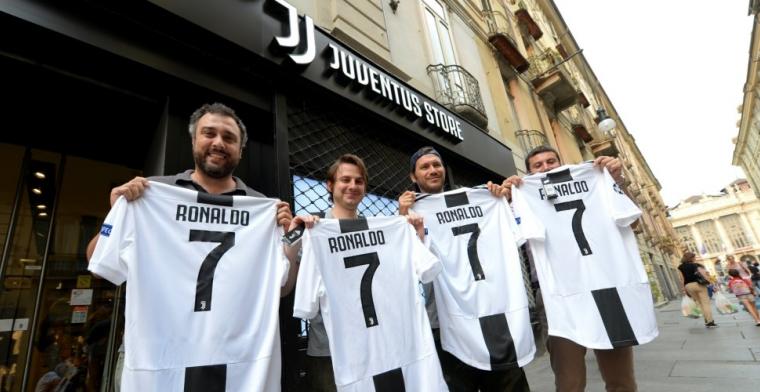 'Kassa rinkelt: Juventus verkoopt iedere minuut een shirt van Ronaldo'