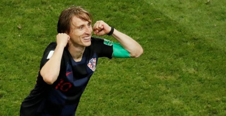 'Modric had het tegen mij de hele tijd over Ajax, hij wilde er alles over weten'
