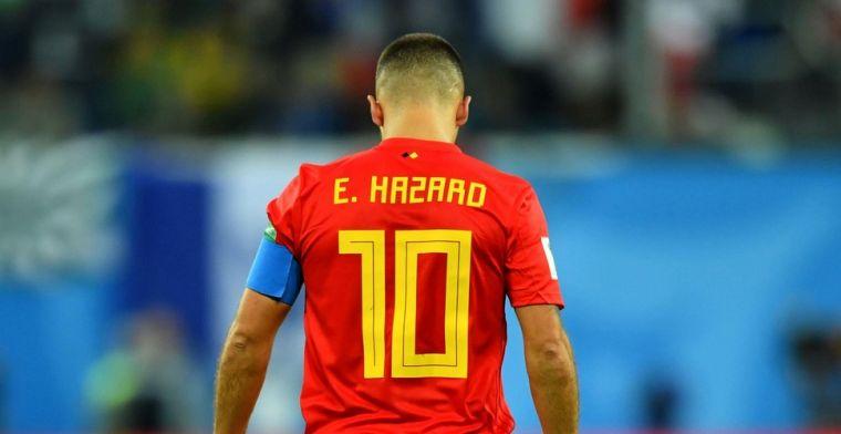 Hazard is bikkelhard voor Fransen: Ik verlies liever dan zo te winnen