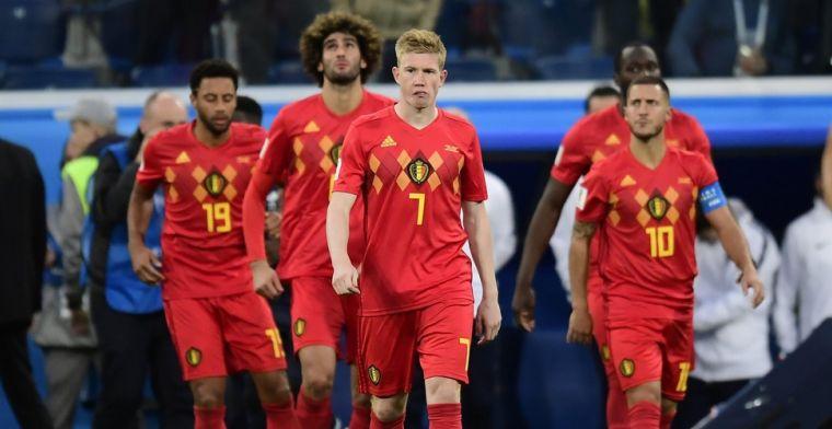 België treurt, maar is ook fier: 'Jullie blijven onze helden, Rode Duivels'