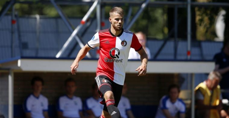 'Het is mooi dat hij er is bij Feyenoord. Voor de rest blijft het stil'