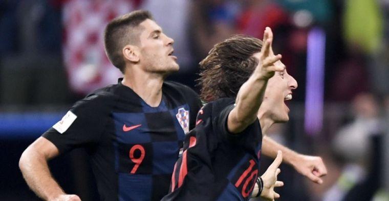 Modric hekelt Engelsen na halve finale: 'Dat is een enorme fout van ze geweest'