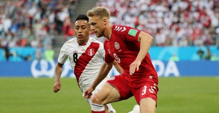 'Clubs niet in de rij voor Jörgensen; één club informeerde naar Feyenoord-spits'