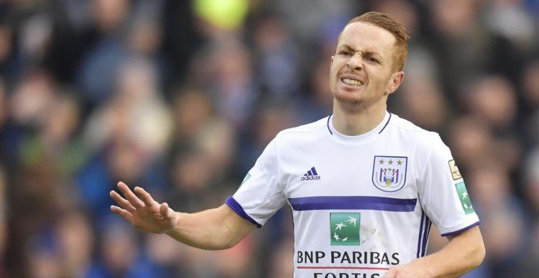 'Hij heeft tegen zijn entourage gezegd dat hij absoluut weg wil bij Anderlecht'