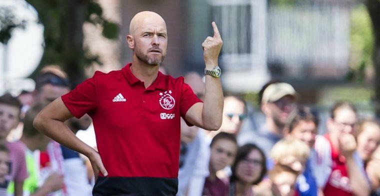 Ajax incasseert vijf goals en verliest Bandé met 'ogenschijnlijk zware blessure'