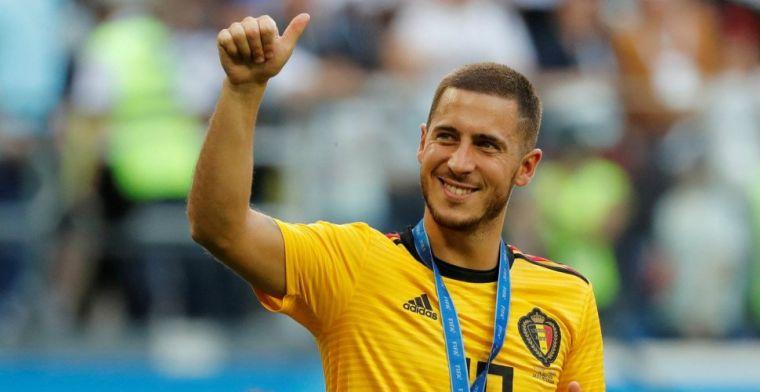 Real Madrid en Barcelona krijgen goed nieuws van Hazard: Een mooi moment