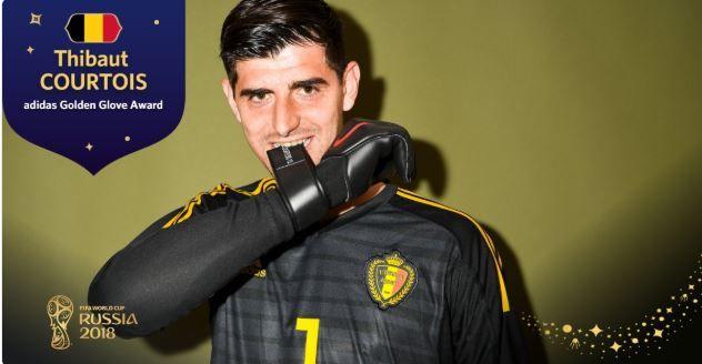 Toch nog een prijs voor België: Courtois Doelman van het WK