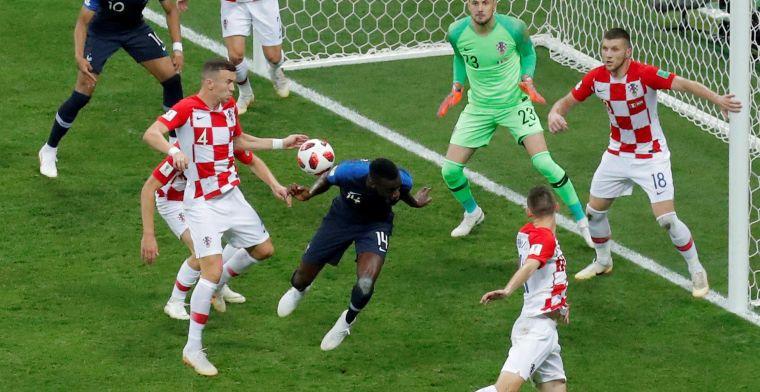 Belgische fans en Lineker niet blij met Franse hulp: 'Blauwe, witte en rode strik'