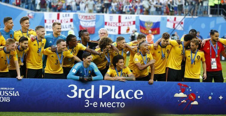 Mourinho: 'België heeft een ongeloofelijke generatie, WK-winst kon zeker'