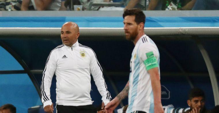 Bizarre onthullingen in Argentinië: 'Messi razend na verloren potje tennisvoetbal'