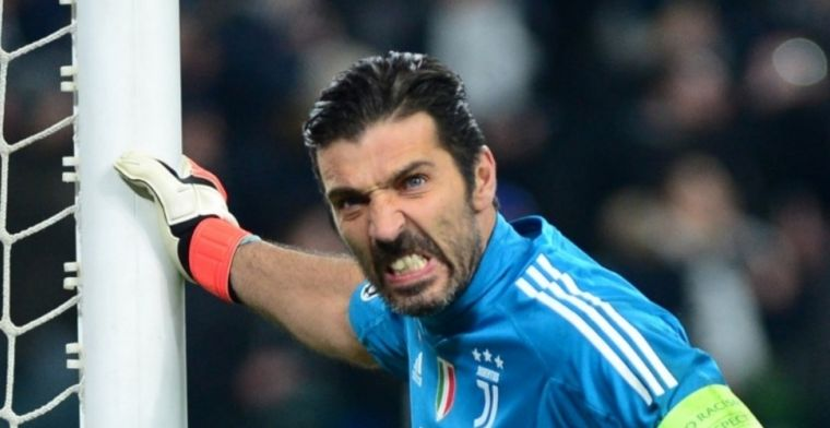 Ongelukkig debuut Buffon: penalty weggegeven en twee goals tegen