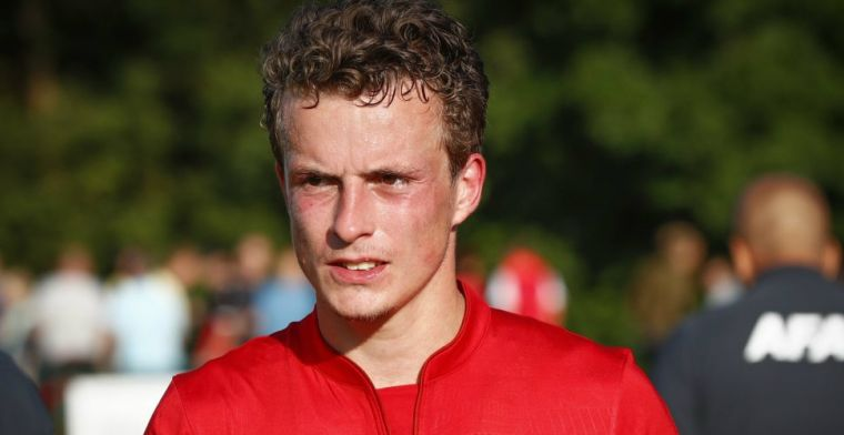 Ajax-duo in Alkmaar: 'Ik vind het wel heel leuk dat hij ook is gekomen'