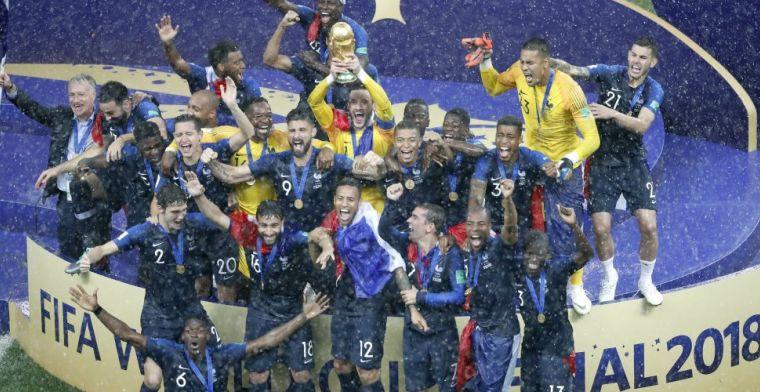 Frankrijk wint zinderende finale van Kroatië en kroont zich tot wereldkampioen