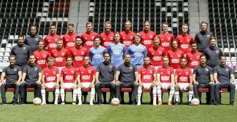 Jong AZ geleid door twee hoofdtrainers: 'We doen alles samen'