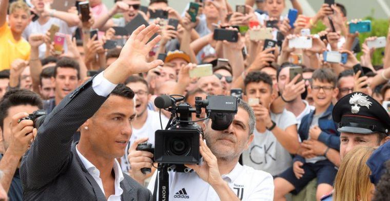 Persconferentie Ronaldo: 'Als we gestopt zijn, zullen we bepalen wie de beste was'