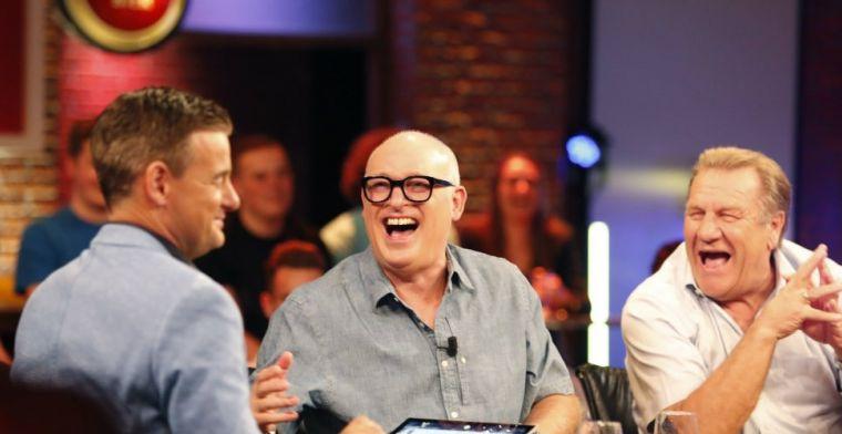 Van der Gijp foetert over 'gek' Van der Vaart: 'Ga lekker in de kantine zitten'