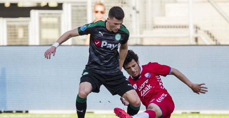 Groningen heeft nieuws: contract aanvaller met twee seizoenen verlengd