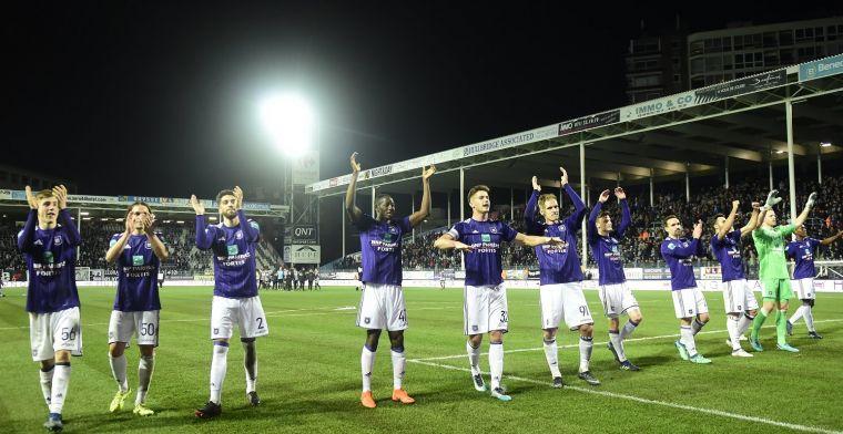 Anderlecht doet iets speciaal met truitjes: Symbool voor verzorgd voetbal