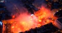 Afbeelding: Indrukwekkende beelden uit Zagreb: Kroatische fans maken er groot feest van
