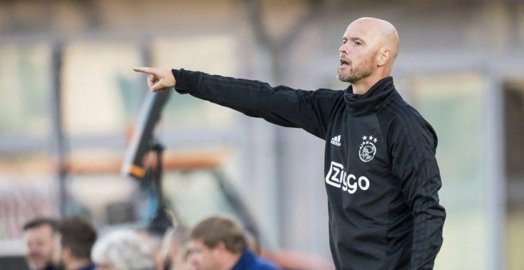 Ten Hag sluit transferdeur nog niet helemaal bij Ajax: 'Wij blijven alert'