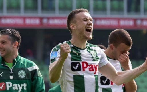 Afbeelding: Groningen-verdediger Te Wierik staat mogelijk voor transfer: 'Nog niet gedaan'