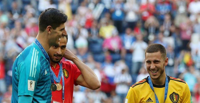 'Dubbeldeal vertraagd, Chelsea weigert eerste bod van Real op Hazard'