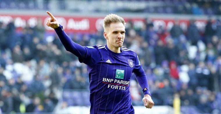 Anderlecht kampt met probleem-Teodorczyk: 'Hij aanvaardt dat moeilijk'