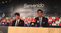 Imagen: Arbeloa ejerce de embajador del Real Madrid presentando a Odriozola