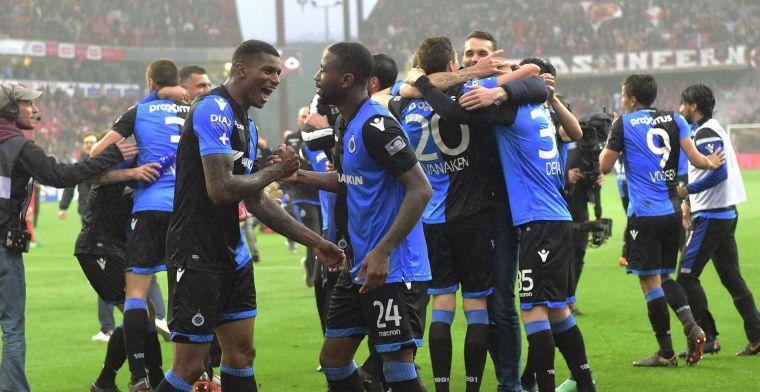 Heethoofden ontsieren 'vriendschappelijke' wedstrijd van Club Brugge