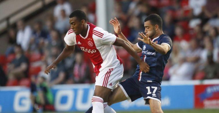 Ajax zakt ook voor tweede test van de dag: League One-club is te sterk