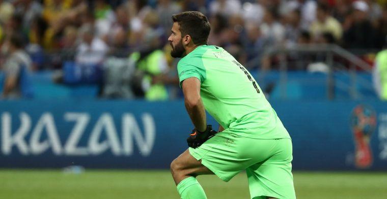 Liverpool maakt transfer Alisson wereldkundig: Braziliaan duurste doelman ooit