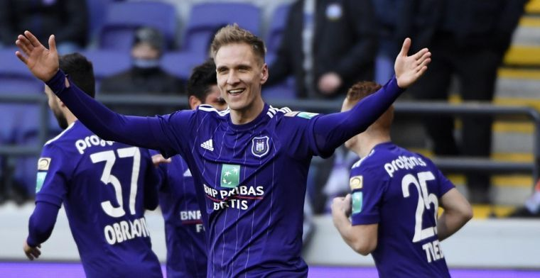 'Gelukje voor Anderlecht, buitenlandse club maakt Teodorczyk topprioriteit'