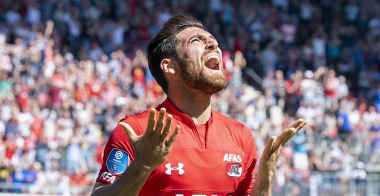 Jahanbakhsh hard op weg naar AZ-uitgang: 'Concreet in gesprek over transfer'
