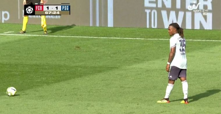 Buffon-vervanger laat zich verrassen door slimme vrije trap van Golden Boy Sanches